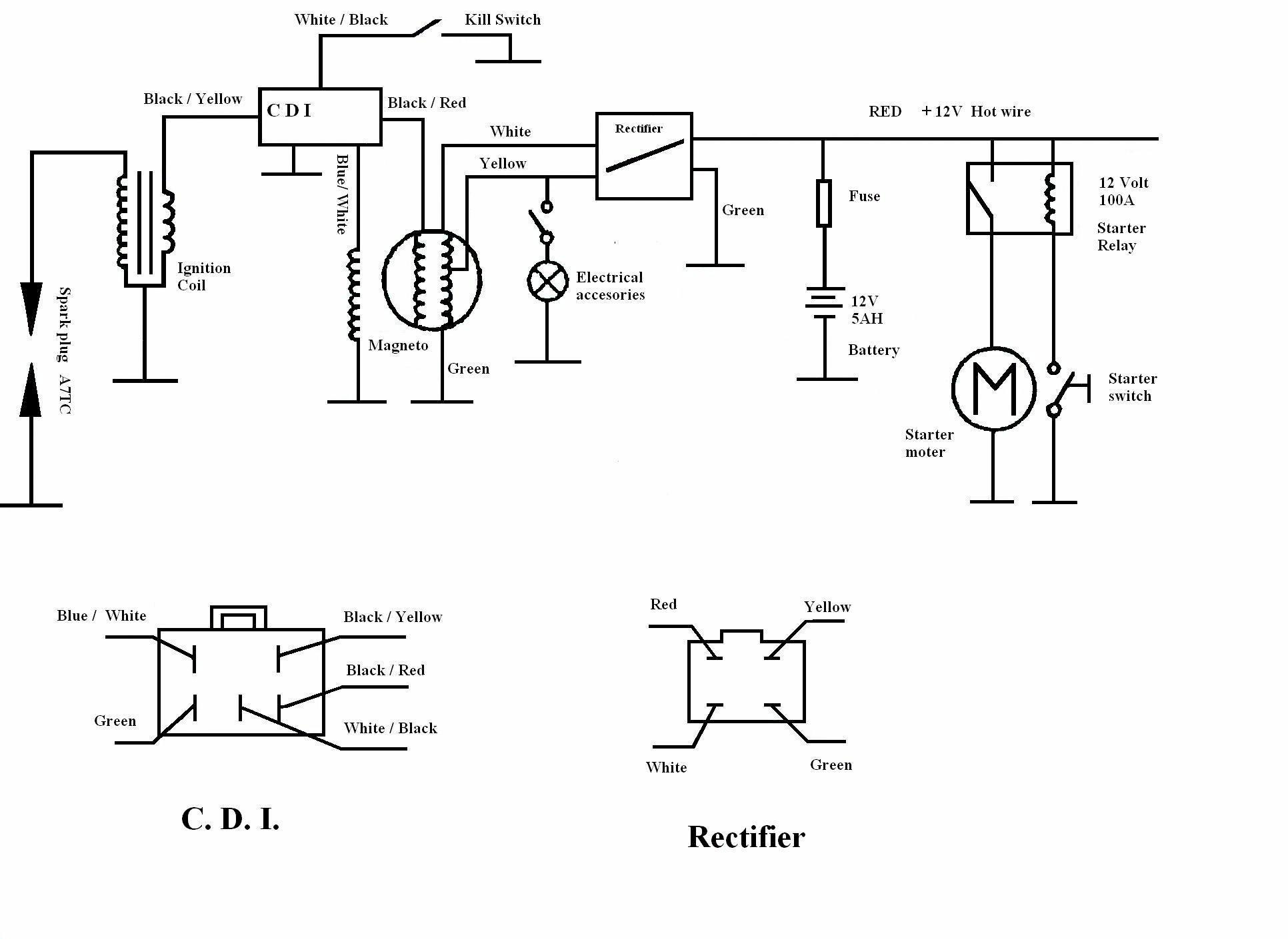 Cdi General Types on honda motorcycle wiring schematics