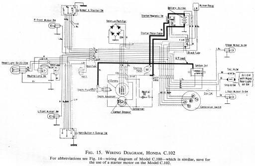 beautiful honda ct110 wiring diagram ideas - electrical circuit, Wiring diagram